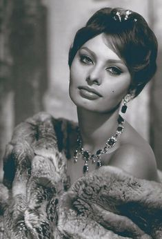 Sophia Loren, Elegance is the only beauty that never fades