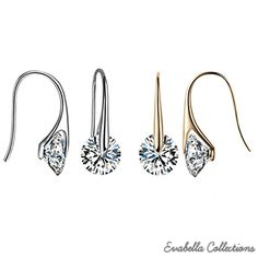 Certain things have an aura of sophistication and richness to them that is inherent and cannot be copied or borrowed..Same can be said about theseBOUTIQUE DIAMOND charming Swarovski drop earrings..One glance at these earrings and you will realizethat you are looking at something truly special ! The ethereal beauty and grace of these earrings is something you would like to have and hold dear to your heart to cherish for a long time to come..Get...