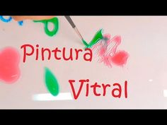 Como Hacer tu Propia Laca Vitral al Agua - YouTube Creative Crafts, Easy Crafts, Diy And Crafts, Arts And Crafts, Purple Ladybugs, Cute Diy Projects, Do It Yourself Crafts, Terracotta Pots, Cold Porcelain
