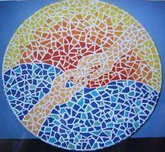 mozaieke schaal gemaakt Door Ruby