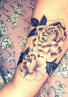 My Rose tattoo. Still love it.