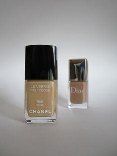 Chanel #565 Beige & Dior #413 Grege