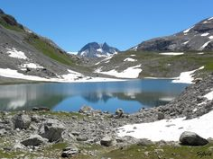 Lac Long / Parc national de la Vanoise / Alpes