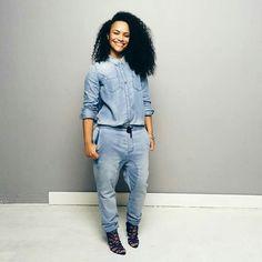 #Anthropolgie #denimtop #Zara jeans #heels