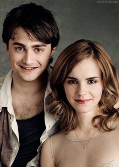 Daniel Radcliffe en Emma Watson