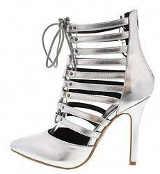 best website f7c1a 1954a Silver High Heels  25  highheels  womensshoes  shoes  silver   WomensshoesNearMe