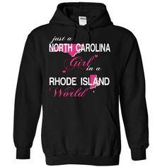 V1-NORTHCAROLINA-RHODEISLAND GIRL - #adidas sweatshirt #brown sweater. PURCHASE NOW => https://www.sunfrog.com/Valentines/V1-2DNORTHCAROLINA-2DRHODEISLAND-GIRL-Black-Hoodie.html?68278
