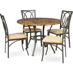 All in one Table & 4 Chairs | Dinettes | Dining Rooms | Art Van Furniture - the Midwest's #1 Furniture & Mattress Stores