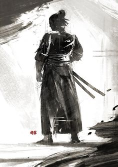 The Blind Ninja — The Way of the Sword by artofjokinen