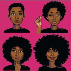 From the big chop to the long natural tresses! i think i want to cut my hair...!