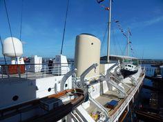 Royal Yacht Britannia, die königliche Jacht in Edinburgh