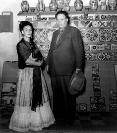 Reinette: Frida Kahlo and Diego Rivera