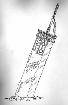 Buster Sword Tattoo Photo by Quirks | Photobucket