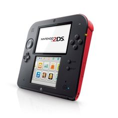 Nintendo 2DS Handheld Console - Black & Red