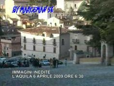 L'AQUILA 6 april 2009 h 6,30am 2a parte.....The day after!