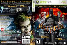 Xbox 360, Batman Games, Batman Arkham Asylum, The Darkest, Video Game, Joker, Movie Posters, Places, Hipster Stuff