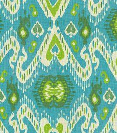 Home Decor Print Fabric- Waverly Enlightened Jade & home decor print fabric at Joann.com - living room