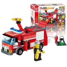 $7.49 (Buy here: https://alitems.com/g/1e8d114494ebda23ff8b16525dc3e8/?i=5&ulp=https%3A%2F%2Fwww.aliexpress.com%2Fitem%2F206PCS-Fire-Fight-Series-Fire-Engine-kid-Building-Block-Sets-Model-Enlighten-Educational-DIY-Construction-Bricks%2F32752703702.html ) 206Pcs Fire Fight Series Fire Engine Kid Building Block Model DIY Construction Bricks Compatible Legoelieds Lepin Toys For Child for just $7.49