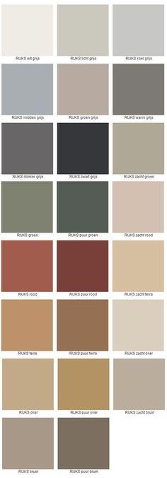 Sikkens Rijks kleuren - Scandinavian home haul Pantone Verde, Wall Colors, Colours, Paint Colors For Home, Behr, Colour Schemes, New Room, Color Inspiration, Sweet Home