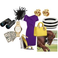 Ready for the @Breeders' Cup in their signature purple!
