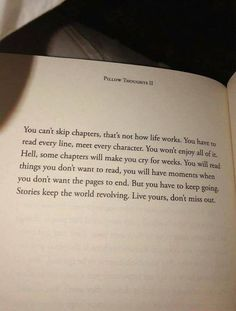 Pillow Thoughts - coping with mental health, anxiety, depression Motivacional Quotes, True Quotes, Words Quotes, Qoutes, Quotes In Books, Best Book Quotes, Book Quotes About Life, Book Memes, Daily Quotes