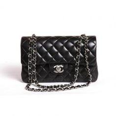 Sac Chanel 2.55 Timeless noir et argent