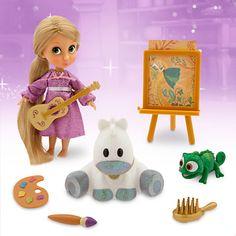 Disney Animators' Collection Rapunzel Mini Doll Play Set - 5'' | Disney Store