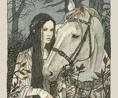 No one could ride like Lyanna