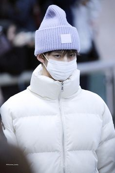 Winter Hats, Winter Jackets, Jinyoung, Guys, Fashion, Winter Coats, Moda, Winter Vest Outfits, Fashion Styles