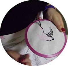 #embroidery#oldschool#swallow#needle