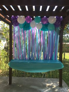 Mermaid birthday party backdrop Check out more from this mermaid party in my board, My Life! Mermaid birthday party backdrop Check out more from this mermaid party in my board, My Life! Mermaid Theme Birthday, Little Mermaid Birthday, Little Mermaid Parties, Mermaid Themed Party, Baby Shower Mermaid Theme, Mermaid Party Favors, Mermaid Baby Showers, Party Kulissen, Party Fiesta