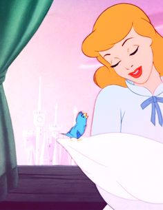 Cinderella- No matter how your heart is grieving, if you keep on believing, the dreams that you wish will come true...!