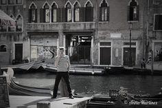 Gondoliere Venice, Italy 2015