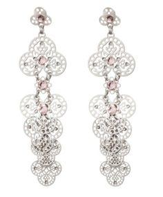 Amazing delicate Israeli earrings