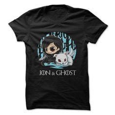 Jon Snow. Check it now: http://www.sunfrogshirts.com/Jon-Snow-Ghost.html?53507