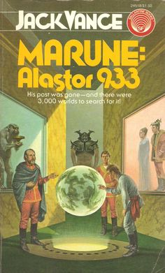 Darrell Sweet, Marune: Alastor 933 by Jack Vance Pulp Fiction Book, Science Fiction Books, Fantasy Book Covers, Book Cover Art, Fantasy Books, Classic Sci Fi Books, Sci Fi Novels, Cool Books, High Fantasy
