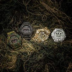 Inspired from the concepts of Woodland, Darkness, Desert, and Snow...the G-SHOCK…