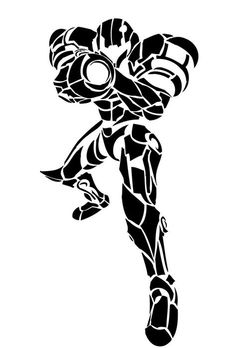 338 best retro game pics images in 2019 cartoons graphic art 1970s Arcade my first attempt at a tribal drawing of samus aran it s not perfect or anything