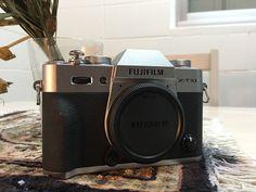 Fujifilm X-T10 Digital Camera Silver Body Only