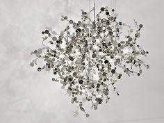 Luminária pendente halogénio de metal ARGENT | Luminária pendente by TERZANI