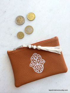 Large Moroccan Clutch / Pouch / Cosmetic Bag / by LeJardindeMonia