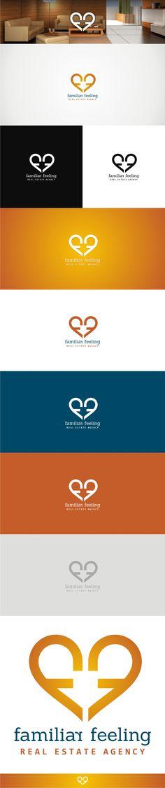 Real estate agency logo : workout