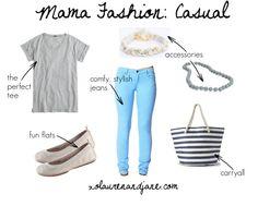 Mama Fashion: Casual - xo, lauren and jane