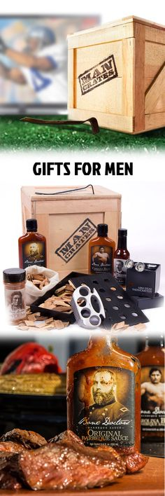 Pretty much the best gift box for guys. So much manly stuff, Ron Swanson would be proud. #ManCrates
