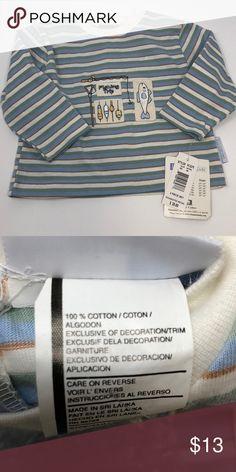 Vitamins kids boy's top Boy's cotton top - size 18mo - vitamins kids Vitamins Baby Shirts & Tops Tees - Long Sleeve