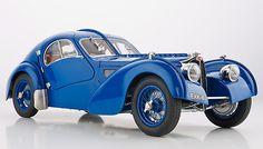 Bugatti Type 57 SC Atlantic, 1938 - A Classic of Engineering Decorative Art Chassis-No. 57.591 (R. B. Pope) / Item No. M-083, from cmc-modelcars.de