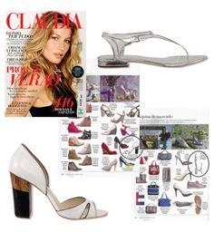 Salto diferenciado - Guilhermina na revista Claudia de Setembro