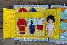 Quiet book for Xavier Jr Handmade by TomToy