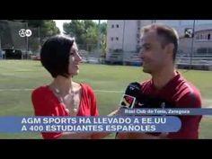AGM Sports en el programa Aragón en Abierto de Aragón Televisión
