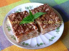 Jablkový koláč bez mléka a vajec Banana Bread, French Toast, Breakfast, Sweet, Desserts, Morning Coffee, Candy, Tailgate Desserts, Deserts